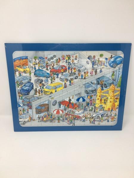 Puzzle 72 Teile, Volkswagen Welt