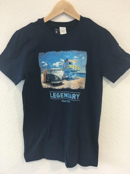 VW T1 T-Shirt Beachlife Legandary Gr.L