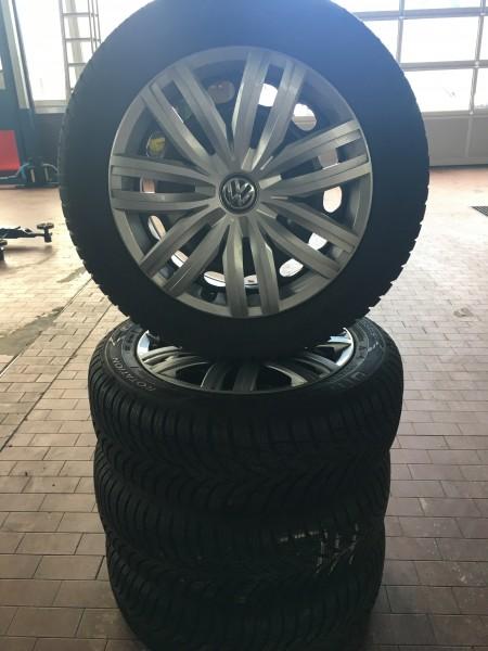 VW Caddy Original 16zoll gebr. Winterkomplettradsatz
