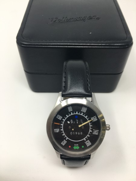 Armband-Uhr Schwarz