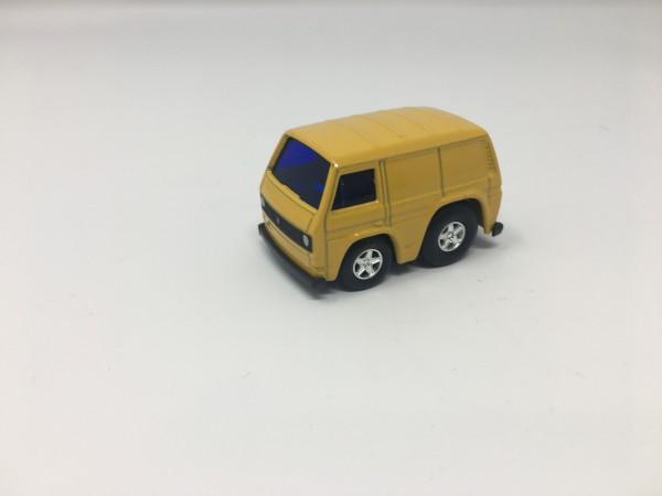 Pullback Spielzeugauto T3 Gelb