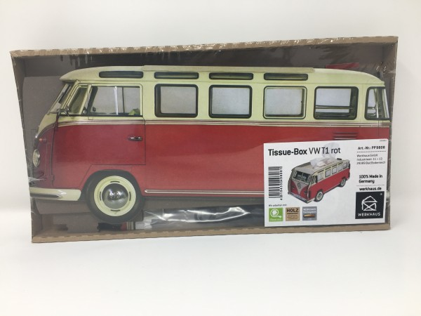 Tissue-Box VW T1 Rot